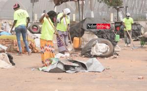 Lendemain de Korité : l'UCG nettoie le marché de SOR (vidéo)