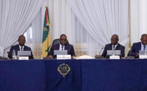 Le communiqué du Conseil des ministres de ce 09 septembre 2020