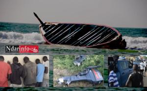Tentative ratée pour 200 migrants clandestins : Leur pirogue échoue à l'hydrobase de Saint-Louis. Le Film …