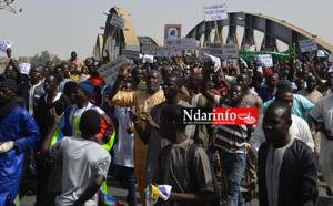 VIDÉO INTÉGRALE| Le film de l'impressionnante marche des mourides contre Jeune Afrique. Regardez !