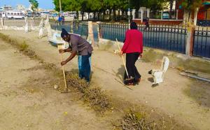ACTION CITOYENNE : des DOMOU NDAR à l'assaut de la Place Faidherbe (Photos)