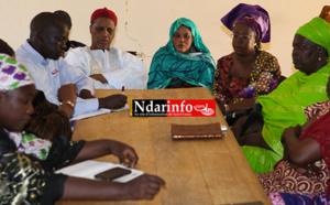 APPUI AUX RIZICULTRICES : des financements aux braves femmes de DIAMA.