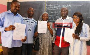 COOPÉRATIVE D'HABITAT : 55 lots de parcelles remis aux enseignants membres du SELS.