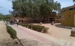 UGB: des gendarmes dans le campus social.