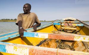 """Oumar GUEYE: """" Nous demandons aux pêcheurs guet-ndariens de ne pas pêcher dans les eaux territoriales mauritaniennes""""."""