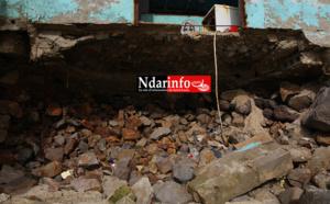 GUET - NDAR : un décor chaotique après l'assaut des vagues ( photos )
