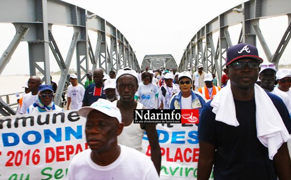 CHANGEMENTS CLIMATIQUES: Saint-Louis marche pour alerter l'opinion internationale | VIDÉOS |