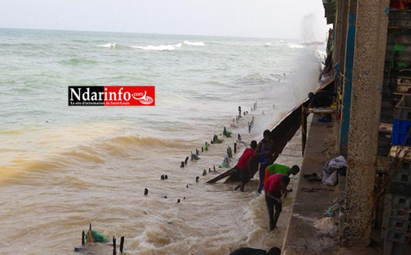 VIDÉO - Le Quai de Pêche de Guet-Ndar en danger !