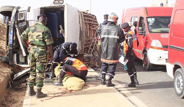 Gamou : 7 morts après l'accident d'un véhicule provenant de Richard Toll.