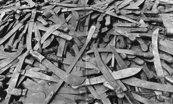 GOXU MBACC : un homme interpellé avec 240 machettes