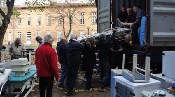 Le Rallye aérien Toulouse St-Louis va offrir du matériel médical à l'hôpital de NDAR.