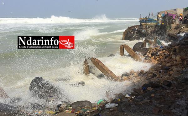 VIDÉO | Avancée de la mer : une dangereuse situation à Guet-Ndar