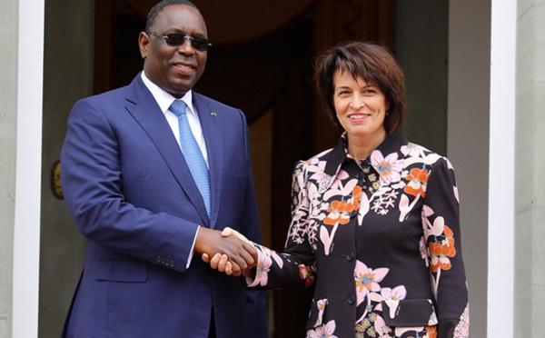 Le Président Sall reçu par la présidente de la Confédération suisse