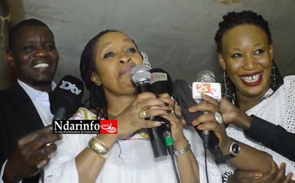 Awa NDIAYE remobilise ses militants et leur octroie un financement de 100 millions de francs.