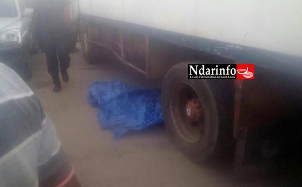 Choc à Ndar Toute : un camion passe sur un gamin (photos)