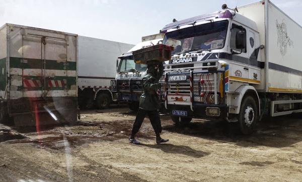 GOXU MBACC : un camion frigo percute un nourrisson