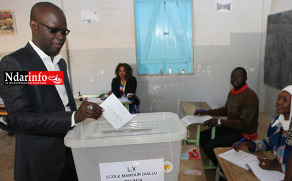 DIRECT – Déclaration de Cheikh Bamba DIEYE après son vote ( vidéo )