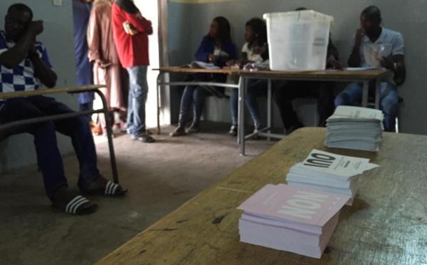 Déroulement normal du vote à Dagana et Richard Toll
