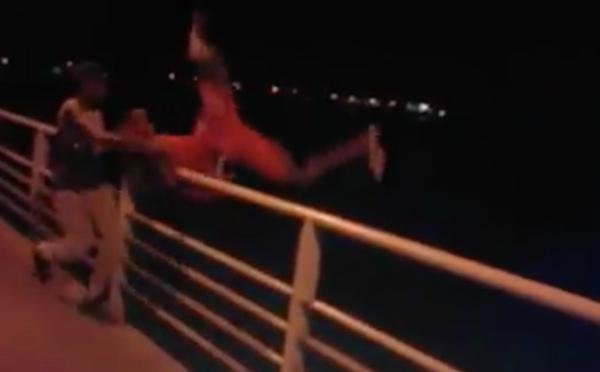 Indiscipline ou insouciance : ce jeune ne dansera plus sur le pont Faidherbe (vidéo)