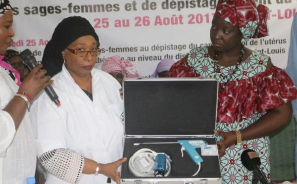 Saint-Louis : des sages-femmes formées au traitement du cancer du col de l'utérus