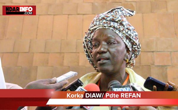 Korka DIAW reçoit le trophée «  Woman of Courage Award » de Believe in Africa