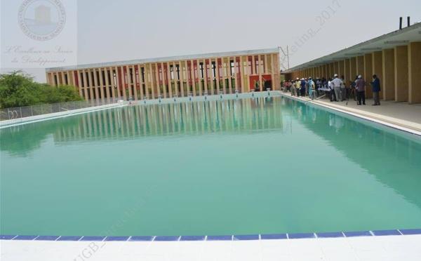 UGB : une visite des lieux pour préparer la réception du complexe sportif de l'UFR SEFS