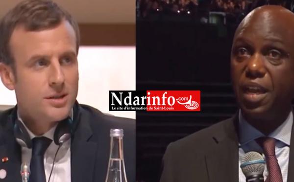 ONE PLANET SUMMIT : La question directe de Mansour FAYE au président MACRON (vidéo)