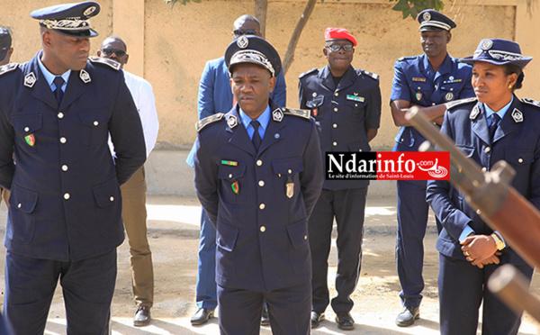 POLICE: le Commissaire Ousmane FALL installé à l'arrondissement de l'île (photos)