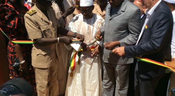 Hamady Hounaré étrenne son nouveau lycée