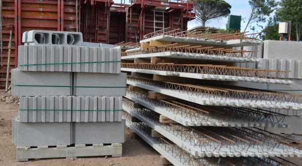 Matériaux de construction: Les prix stables en juin