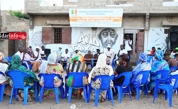 Gestion des ouvrages d'assainissement : une mobilisation sociale partage les bonnes pratiques à Diamaguène (vidéo)