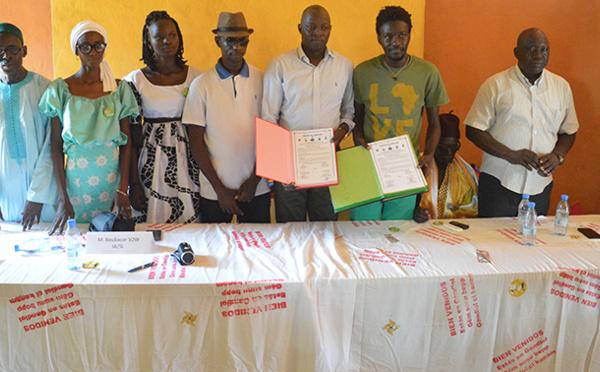EDUCATION CITOYENNE A GANDIOL : 30 ambassadeurs scolaires de la citoyenneté formés par des étudiants de l'UGB