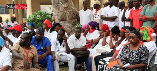SANTE : And Gueusseum décrète 72 heures de grève