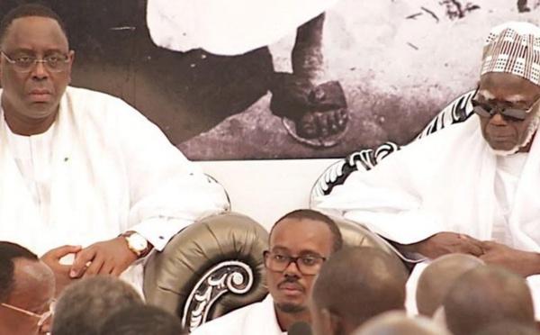 """VIDEO - Macky Sall à Serigne Mountakha Mbacké : """"Personnellement, je vous demande de prier pour ma réélection"""""""
