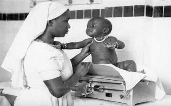 Renforcement de capacités des sages femmes: Le lavage des mains au menu