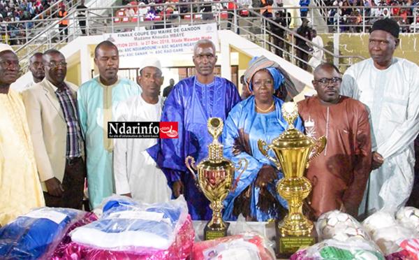 FINALE DE LA COUPE DU MAIRE DE GANDON : Khoudia MBAYE magnifie «  l'esprit de fraternité de sa jeunesse ». « Nous fournirons tous les efforts nécessaires pour l'accompagner »
