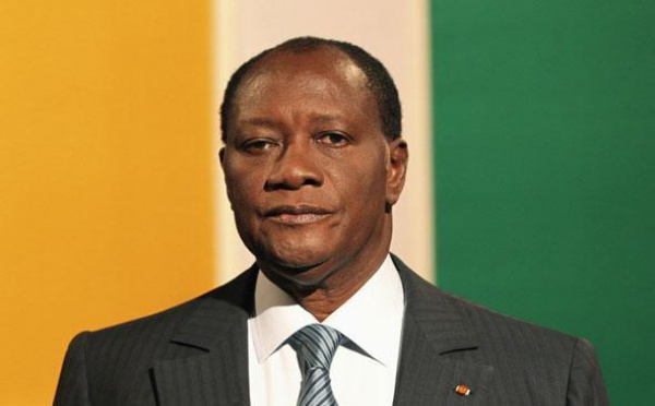 Alassane Ouattara à Dakar jeudi