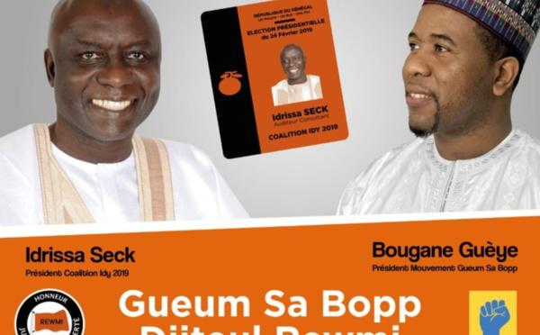 """BOUGANE vote  IDY : """" C'est le meilleur choix. Il incarne la maturité, la sagesse, l'expérience ..."""", dit-il."""