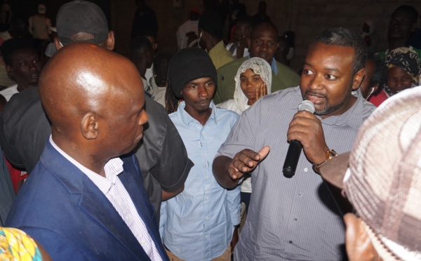 Visite de proximité à BANGO : Amadou François GAYE vante les réalisations du PSE (Photos)