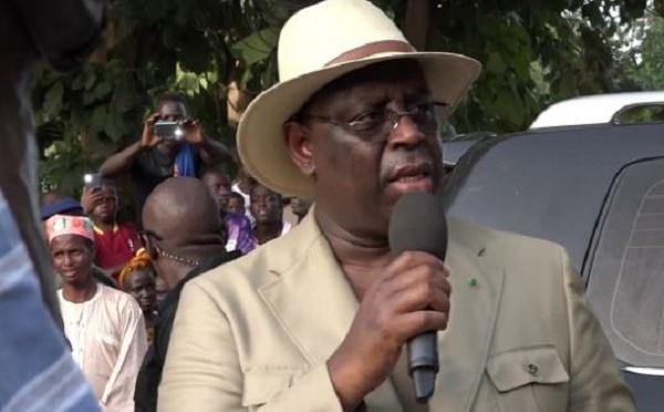 La phrase polémique de Macky à Bignona : « Si vous voulez que la Casamance intègre le Sénégal, votez BBY»