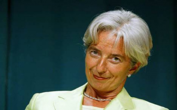 FMI : Christine Lagarde remplace DSK