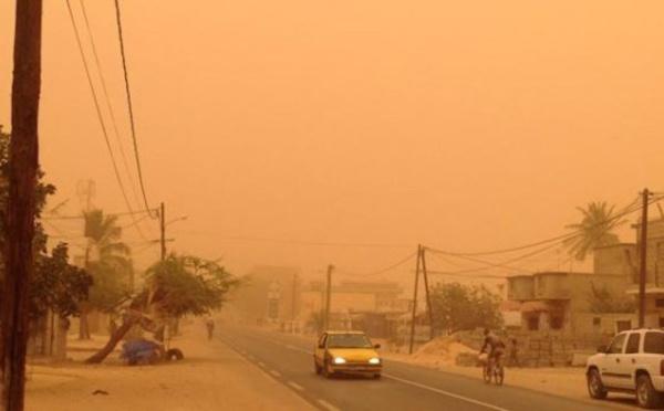 Météo : de la poussière dense, du lundi 11 au jeudi 14 mars