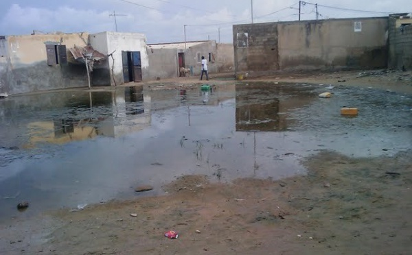 Travaux d'assainissement lancés par Ousmane Ngom en avril dernier : Des millions en l'air