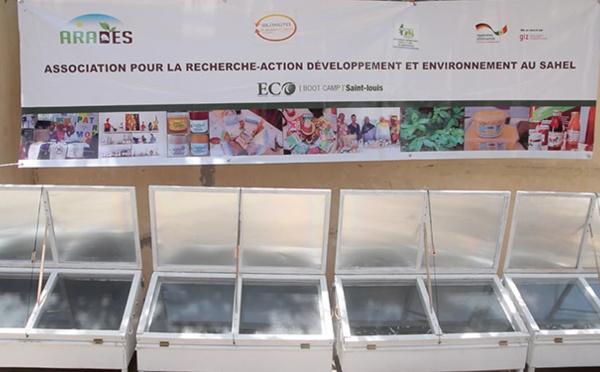 Promotion de l'économie verte : ARADES offre des cuisinières solaires à Groupements de femmes de Saint-Louis (vidéo)