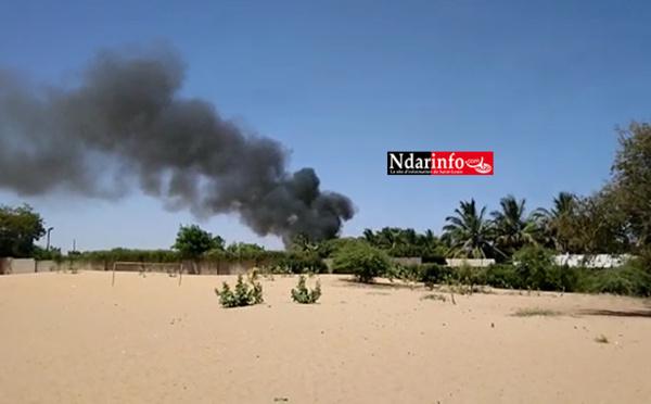 Urgent - Incendie à l'Usine de la Socas (vidéo)