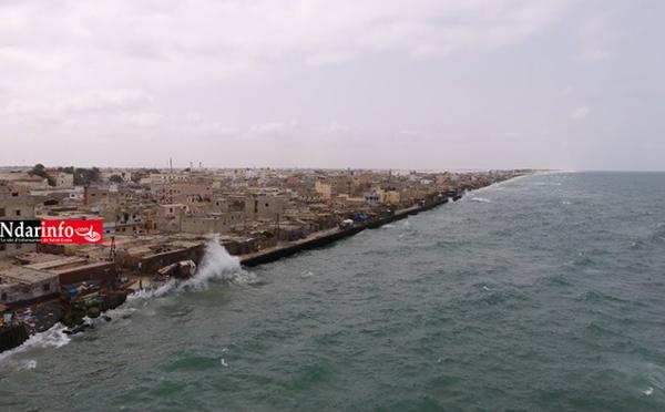 Protection côtière de Saint-Louis : Vers la construction d'ouvrage en enrochement d'une longueur de 2.150 mètres (vidéo)