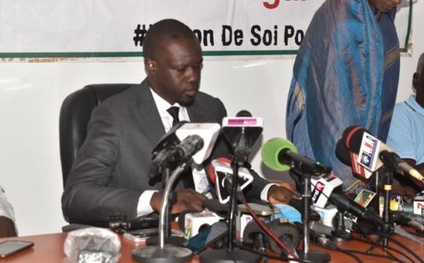 """Sonko dévoile pourquoi Macky veut renvoyer les locales """"un trou de 100 milliards dans le budget"""""""