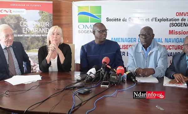 """Le fleuve Sénégal navigable """"toute l'année, en toute saison"""" : la grande ambition de l'OMVS (vidéo)"""