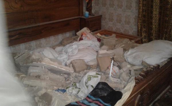Tristesse à NDIOLOFÈNE : la dalle d'une chambre s'affaisse sur une personne