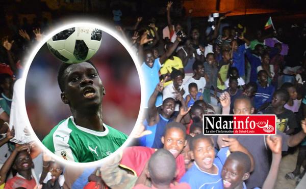 Victoire des Lions : Joie explosive chez Ismaila SARR (vidéo)